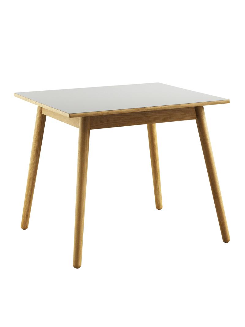 FDB Møbler - C35A Spisebord 82x82 - Natur/Lys grå FDB Møbler