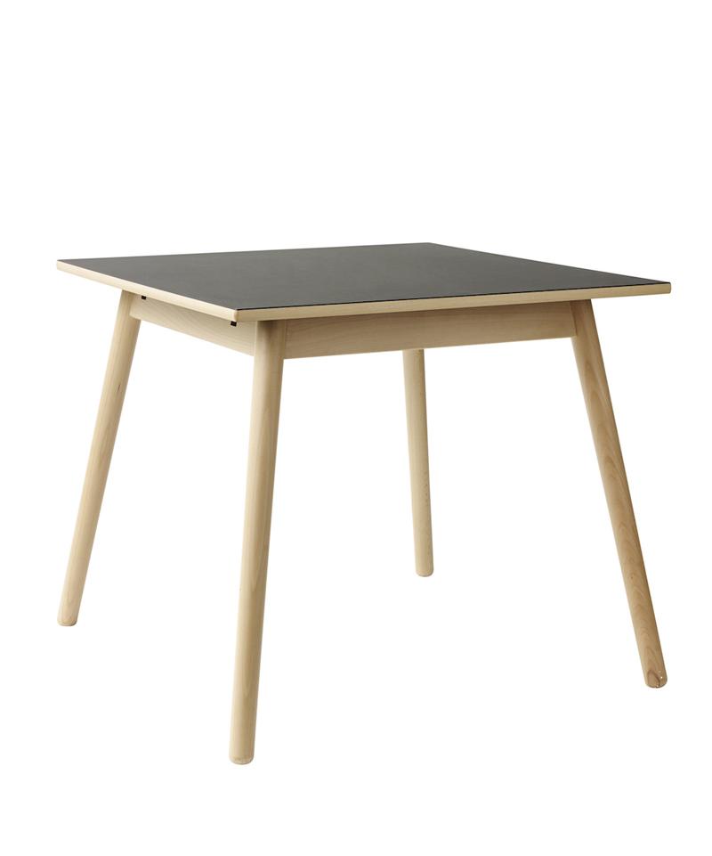 FDB Møbler - C35A Spisebord 82x82 - Sort/Natur FDB Møbler