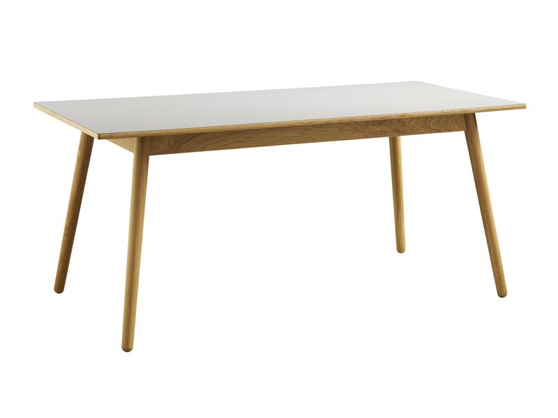 FDB Møbler - C35B Spisebord 160x82 - Natur/Lys grå FDB Møbler
