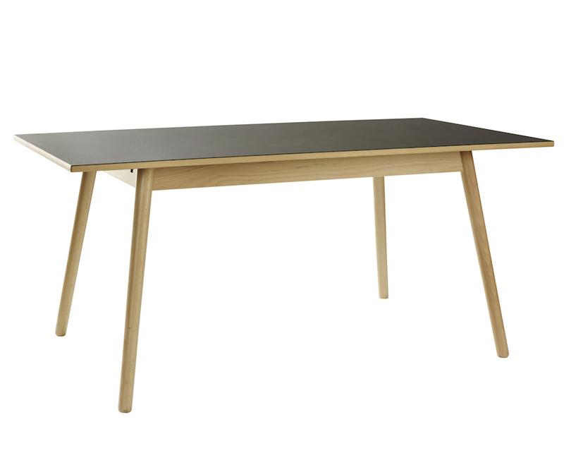 FDB Møbler - C35B Spisebord 160x82 - Sort/Natur FDB Møbler