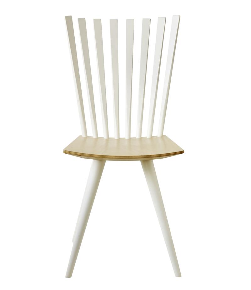 FDB Møbler - Mikado Spisebordstol - Hvit/natur FDB Møbler
