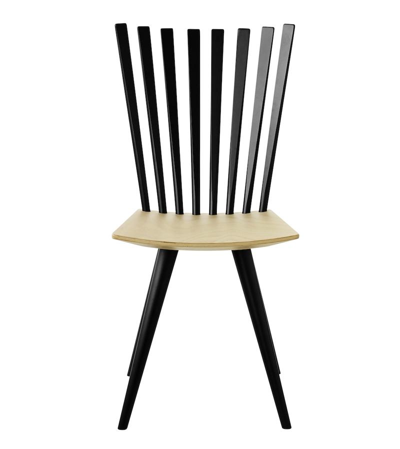 FDB Møbler - Mikado Spisebordstol - Sort/natur FDB Møbler