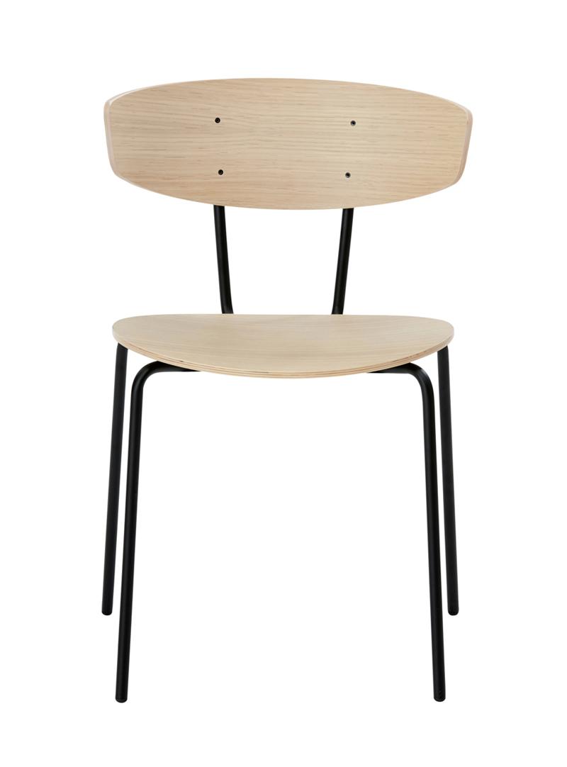 Ferm - Herman Chair - Spisebordsstol eikefinér ferm LIVING