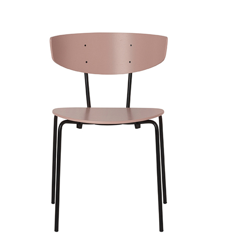 Ferm - Herman Chair - Spisebordsstol Rose eikefinér ferm LIVING