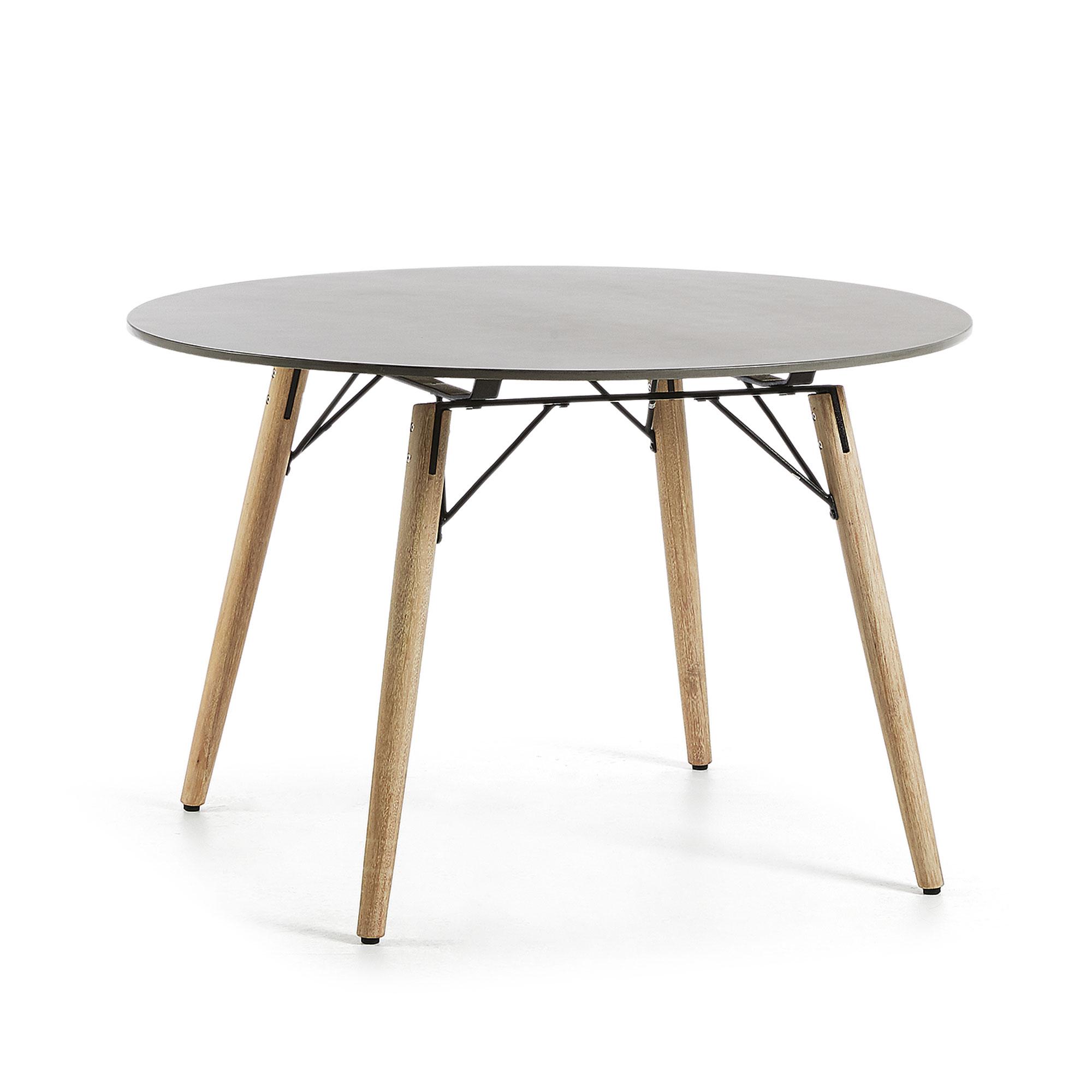 LaForma - Tropo SpisebordØ120 - Natur/grå LaForma