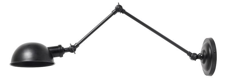 Nordal Aura Vegglampe - Sort