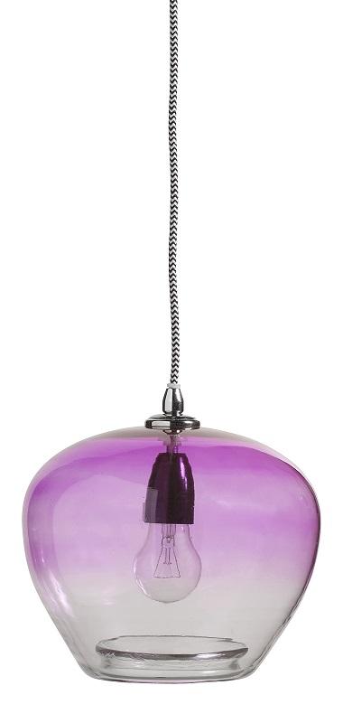 Nordal Bubble Glasspendel - Fiolett Nordal