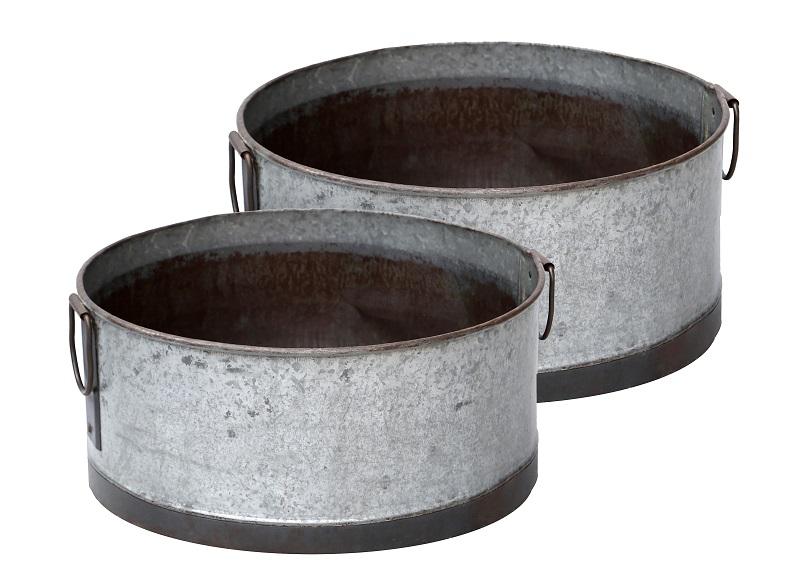 Nordal - Metall Krukkesettá 2 - Grå Nordal