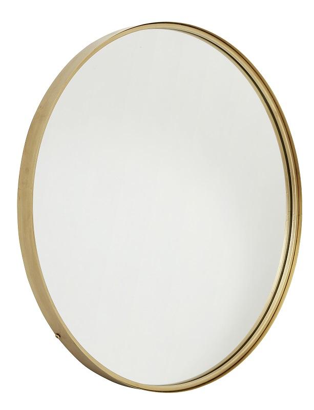 Nordal - SpeilØ80 cm - Gullramme Nordal