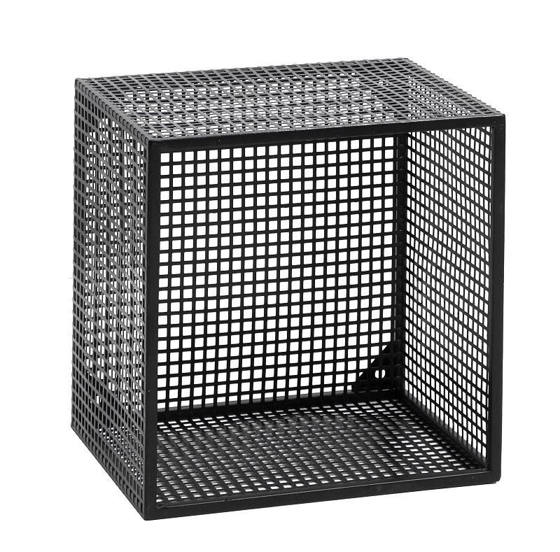 Nordal - Wire Bok kasse 32x32 cm - Sort Nordal