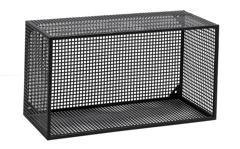 Nordal - Wire Bok kasse 60x32 cm - Sort Nordal