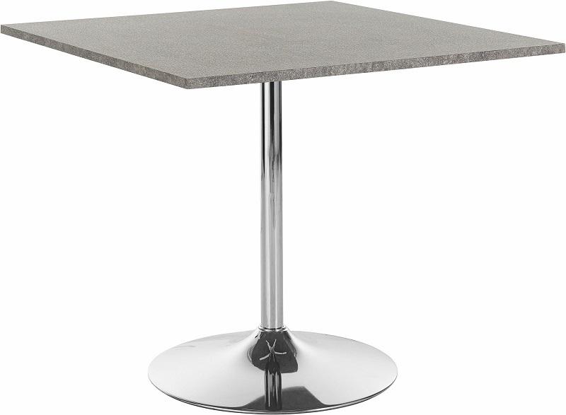 Trent Spisebord 90x90 cm - Folie i betonglook