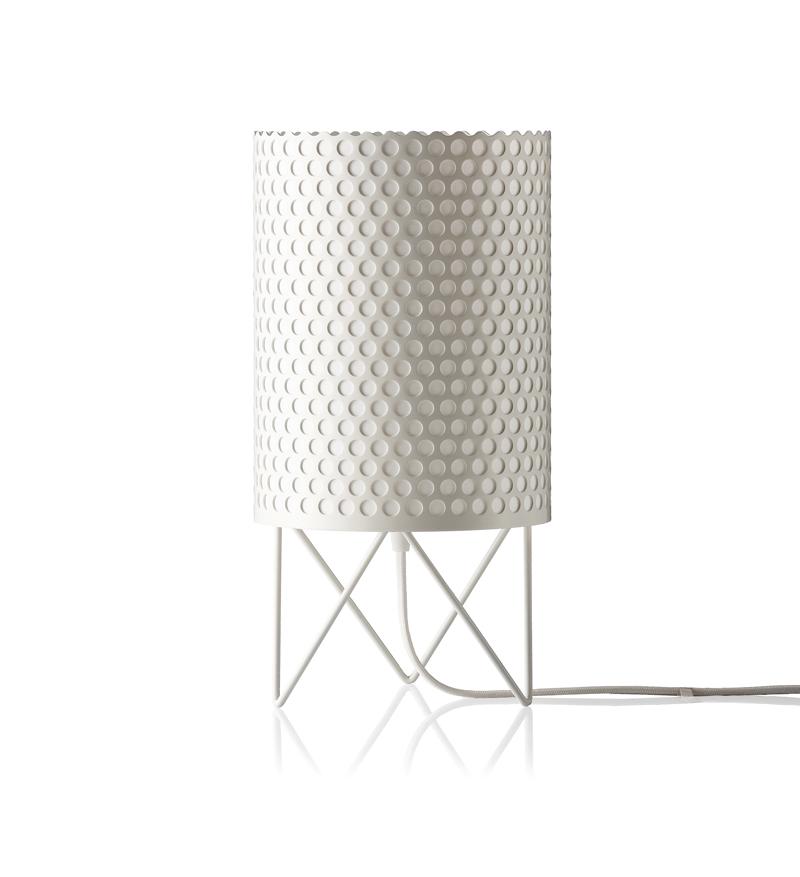 GUBI - ABC Bordlampe Hvid -Ø18 GUBI