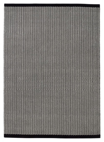 Fabula Living Gro Luvteppe - Sort/Off White, 200x300