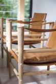 Cinas - Siddepute til Noble Safari stol - Brun