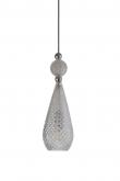 Ebb&Flow - Smykke pendel, Krystall m. Sølv