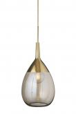 Ebb&Flow - XL Lute pendel, Golden smoke / Gull