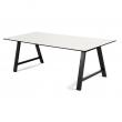 Andersen Furniture - T1 Spisebord m. Uttrekk og svarte ben - 220cm