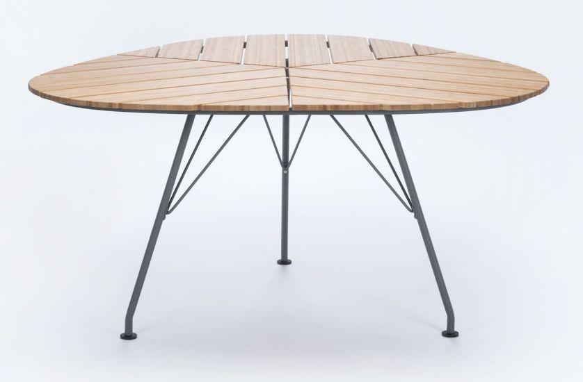 HOUE - LEAF Hagebord Trianguler - Bambus/Metall