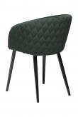 Danform Dual Spisebordstol - Grøn Velur