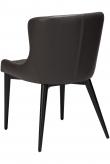 Danform Vetro Spisebordstol - Vintage Grå Kunstlær