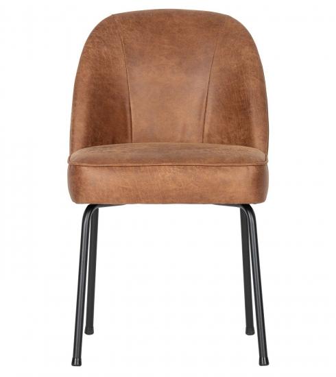 Vogue Spisebordsstol - Cognac Læder