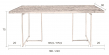 Dutchbone - Class Spisebord - 180 X 90 cm