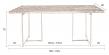 Dutchbone - Class Spisebord - 220 X 90 cm