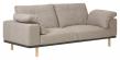Kave Home Noa 3-pers. Sofa m. puter - Beige/Natur