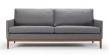 Kragelund Finn01 3-seter sofa, Grå Stoff