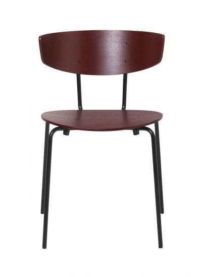 Ferm Living - Herman Spisebordsstol - Rødbrun