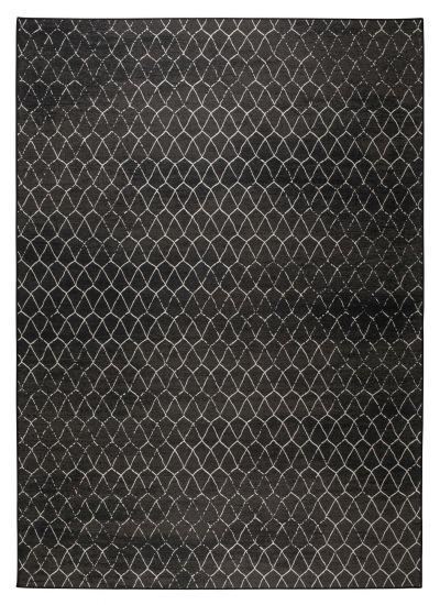 Zuiver Crossley Outdoor Teppe - Sort, 170X240