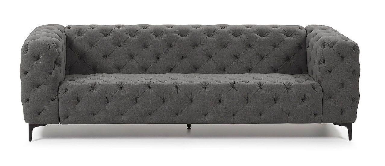 Kave Home - Maisha 3-pers. Sofa - Mørkegrå