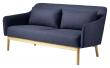 FDB Møbler L38 Gejsa 2-pers, Sofa - Kongeblå