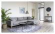 Lido Lounge Sofa m, høyrevendt sjeselong - Lysegrå