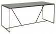 Nordal Tajo Spisebord - Sort, 184,5x78