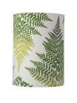 Ebb&Flow - Lampeskjerm, fern leaves graphic, grønn, Ø30