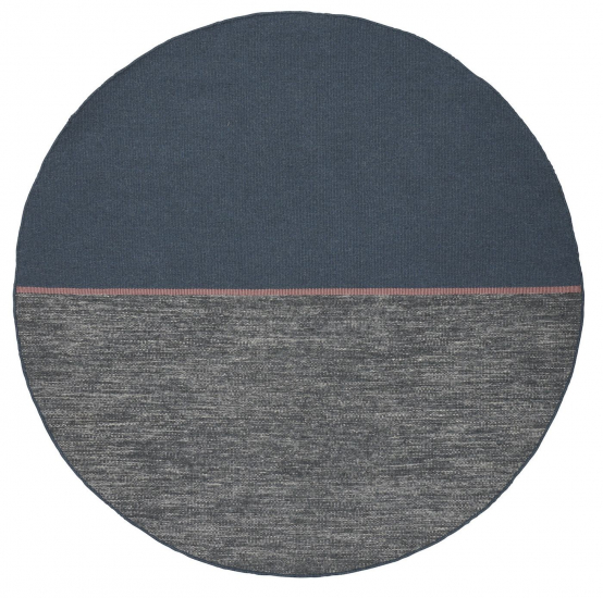 Linie Design Magnetize Teppe - Blue, Ø250