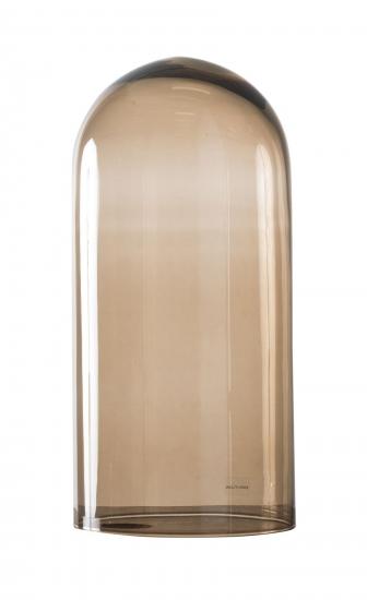 Ebb&Flow - Glasdome til Speak UP! Lamp, Chestnut, Ø15,5