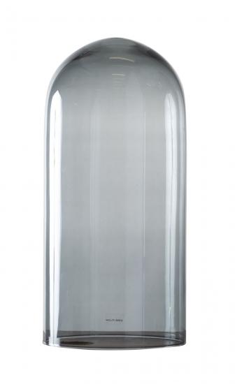 Ebb&Flow - Glasdome til Speak Up! Lamp, smokey grå, Ø15,5