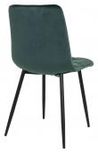 Middelfart Spisebordstol - Mørkegrønn Velour