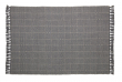 Kave Home Shaiel Tepper - Gråsort, 230x160