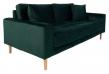 Lido 2,5-pers, Sofa - Mørkegrønn Velour