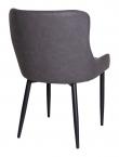Boston Spisebordstol - Mørkegrå Kunstskinn