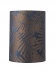 Ebb&Flow - Lampeskjerm, fern leaves wild, blue, Ø30