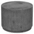 Rillo Podie Sidebord - Fiberbetong Charcoal, Ø56