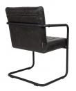 Dutchbone - Stitched Spisebordstol - Mørkegrå