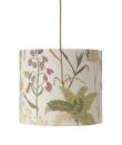 Ebb&Flow - Lampeskjerm, botanical, Ø35, loftlampe