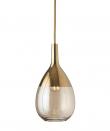 Ebb&Flow - Lute pendel, S, Golden smoke / Gull