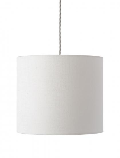Ebb&Flow - Lampeskjerm, hvit marl, Ø35